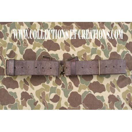 CEINTURON EN CUIR GB WW1 & WW2