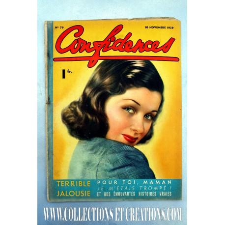 CONFIDENCES 10 NOV.1939 N°79