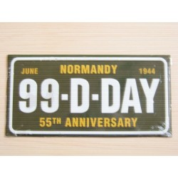 PLAQUE 55th ANNIVERSARY 1944