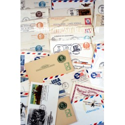 LOT 65 ENTIERS POSTALES USA