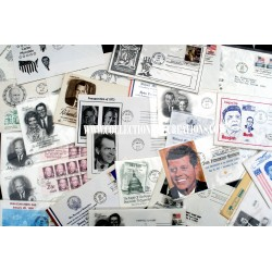 LOT 26 EPJ & ENTIERS POSTALES PRESIDENTS USA