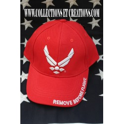 CASQUETTE AIR FORCE RED