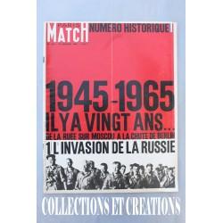 PARIS MATCH N°823 NUMERO HISTORIQUE 1945-1965