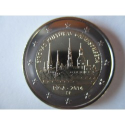 2 EURO COMMEMORATIVE LETTONIE 2014