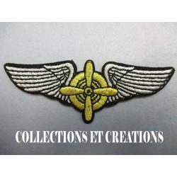 INSIGNE PILOTE ECOLE U.S.A.F WW2 (REPRO)