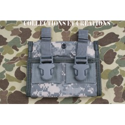 PORTE CHARGEURS TRIPLE M4/M16 US ARMY