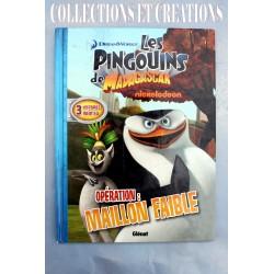 "BD ""LES PINGOUINS DE MADAGASCAR N°4"""