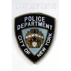 PATCH 3D POLICE NEW YORK