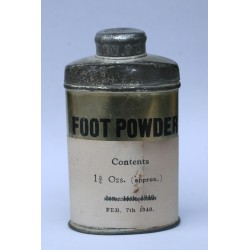 FOOT POWDER FEB 7th 1940