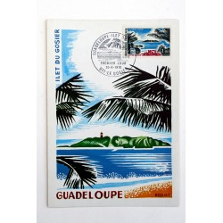 CARTE MAXIMUM GUADELOUPE 1970