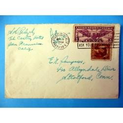 ENVELOPPE USA APR 19 1938