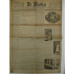 JOURNAL LE MATIN VEND 4 DEC 1914