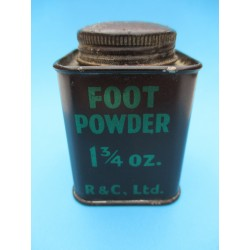 FOOT POWDER 1 3/4 oz GB WW2