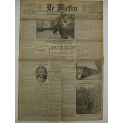 JOURNAL LE MATIN MARDI 8 DEC 1914