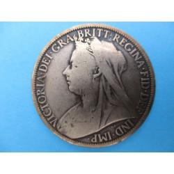 1 PENNY VICTORIA 1900