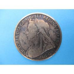 1 PENNY VICTORIA 1901