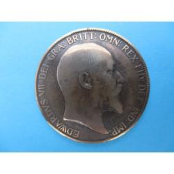 1 PENNY EDWARD VII 1907