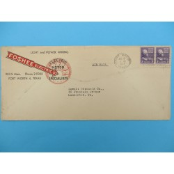 ENVELOPPE FORT WORTH TEXAS 1947