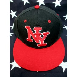 CASQUETTE NY BLACK/RED