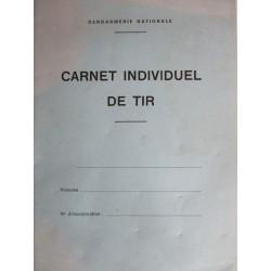 CARNET INDIVIDUEL DE TIR DE LA GN