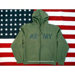 SWEAT-SHIRT AVEC CAPUCHE US ARMY