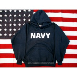 SWEAT-SHIRT AVEC CAPUCHE NAVY