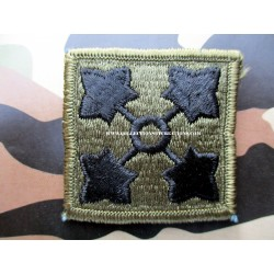 PATCH 4TH I.D US ARMY