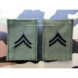 PAIRE GRADE CAPORAL US ARMY