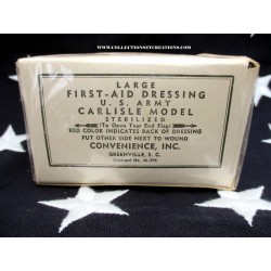 PANSEMENT LARGE FIRST-AID DRESSING CARLISLE MODEL