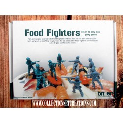 FOOD FIGHTERS SOLDATS
