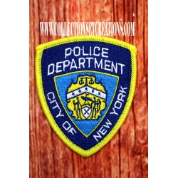 PATCH POLICE N.Y.C