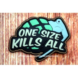 PATCH 3D PVC ONE SIZE KILLS ALL