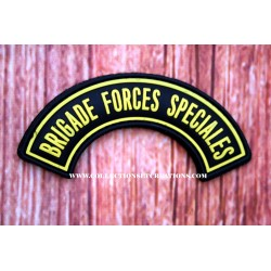 PATCH 3D PVC BRIGADE FORCES SPECIALES