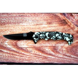 COUTEAU + CLIP SKULL