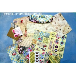 SCRAPBOOK MINI BOOK KIT PARIS