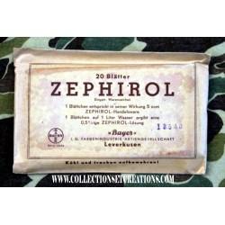 ZEPHIROL 1941 PANSEMENT GERMAN