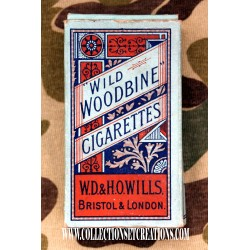 PAQUET CIGARETTES WILD WOODBINE