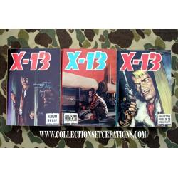 BD LOT 3 ALBUMS X-13 N°0/58/59