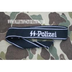 """BANDE DE BRAS """"SS-POLIZEI"""" COPY"""