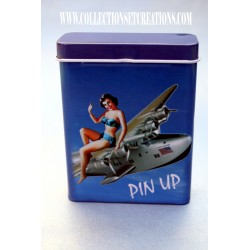 ETUI A CIGARETTES PINUP AIR FORCE
