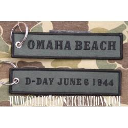 KEYCHAIN D-DAY OMAHA BEACH
