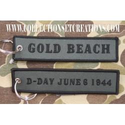 KEYCHAIN D-DAY GOLD BEACH