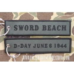 KEYCHAIN D-DAY SWORD BEACH